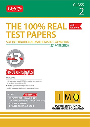 The 100% Real Test Papers (IMO) Class 2