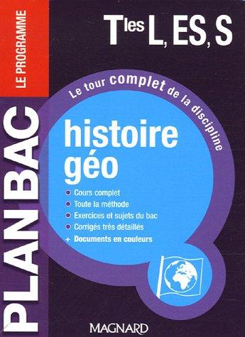 Histoire-géo Tles L, ES, S