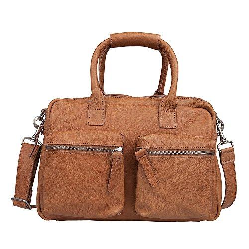 Cowboysbag The Bag negligible 1118 Henkeltasche, Umhängetasche aus Leder, Tobacco, 41x31x12 cm (B x H x T)