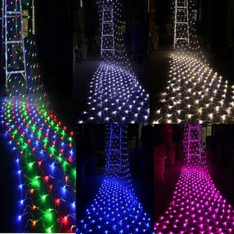 100/300LED rete mesh Fata Luce Natale Party Matrimonio Giardino String luce 220/110