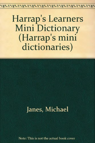 Harrap's Learners Mini Dictionary par Michael Janes