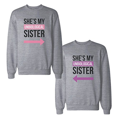 *365 Printing Damen Sweatshirt grau grau One size Gr. Verbindungen-S/Recht-S, grau*