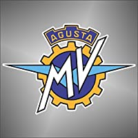 Pegatinas de - pegatinas de moto GP super ataum.wb MV Agusta motor cycle prefieren adhesivo, 11 cm