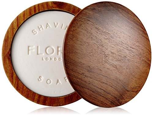 Floris London Elite Shaving Soap in a Wooden Bowl 100 g