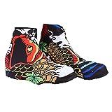Alomejor 1 Paire Couvre Chaussures Couverture de Chaussures de Sport Imperméable Coupe-Vent Et Coupe-Vent Chaussure Polyester Housses de Protection pour Sports de Plein Air(M)