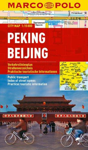 MARCO POLO Cityplan Peking 1:15 000 (MARCO POLO Citypläne)