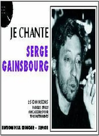 Partition : Je chante Gainsbourg