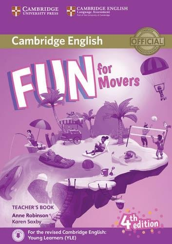 Fun for Movers Teacher's Book with Downloadable Audio Fourth Edition