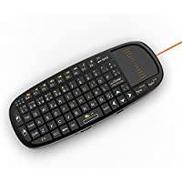 Rii i10 Mini Wireless 2.4GHz Air Mouse Keyboard for presentations
