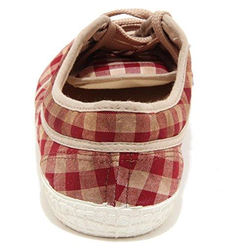 33961 sneaker KAWASAKI WHITOUT BOX scarpa uomo shoes men bordeaux/bianco/beige