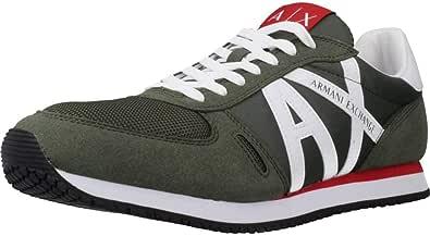 ARMANI EXCHANGE Sneakers Uomo CAMOSCIO GR-RE