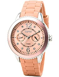 Esprit Damen-Armbanduhr marin 68 Analog Silikon A.ES105332010
