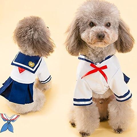 Yuno Pet Hund Tutu Kleid Sommer Prinzessin Spitze Rock Puppy Kleidung