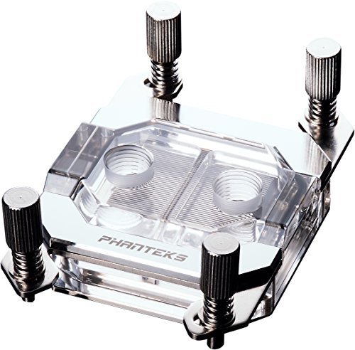 Phanteks Waterblock CPU pour LED RVB Base en cuivre nickelé Acrylique Coque Chrome - Ph-c350 a Cr01 4