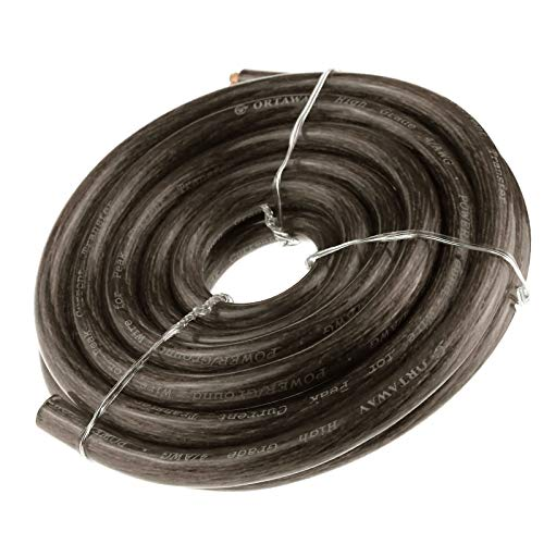 Creare idea nero 21mm? cavo di avviamento per batteria, 170 a, 5 m, hi-flex in pvc, compatibile con auto