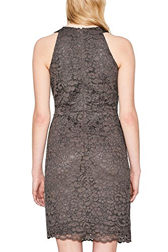 ESPRIT Collection Damen Kleid Braun (Taupe 240)