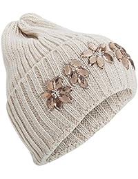Textiles Universels Bonnet tricoté uni - Femme