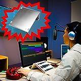 STANDWERT DJ Notebook Ständer Laptop Halterung aus Aluminium - silber