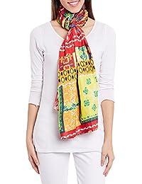 Femmes Coton Imprimé Voile Echarpes De Poids Léger Wrap Mode Accessoire Femme Robe De IndiaW-VPS-2115