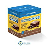 Keepgoing Energy Carbo Charge Cake · Pastel energético · Caja de 400g. Chocolate.