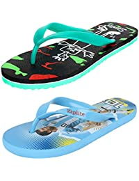 d23bb48854b Shoefly Men s Multicolor Combo Pack of 2 Canvas Flip-Flops   Slippers