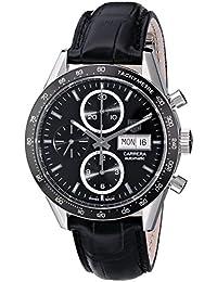 Montre  Tag Heuer  - Affichage  bracelet Cuir  et Cadran  CV201AG.FC6266