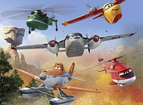 Planes 2- Planes Puzzles 100 Piezas, XXL (Ravensburger 10537)