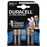 Duracell Ultra Power Typ AAA Alkaline Batterien, 4er Pack