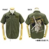 IS [Infinite Stratos] Charlotte Dunois full color work shirt Nose Art style Ver. Moss L size