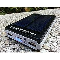 talabox Nero portatile 15000mAh caricatore solare Solar Power Bank Solare