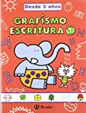 Grafismo y escritura 1 (desde 3 años): Grandes cuadernos (Castellano - Material Complementario - Grandes Cuadernos) - 9788421659038
