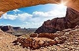 Papiertapete Foto-Tapete False Kiva Canyonlands National Park KT456 Monument Valley Wüste Stein Tapete Fototapete Größe: 420x270cm Kleistertapete Wandbild XXL-Tapete