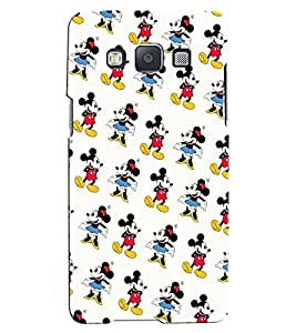Citydreamz Mickey Mouse\Cartoon Hard Polycarbonate Designer Back Case Cover For Samsung Galaxy J7-6 (New 2016 Edition)