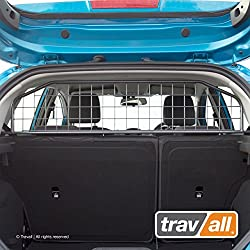 Travall® Guard Hundegitter TDG1215 - Maßgeschneidertes Trenngitter in Original Qualität