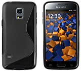 mumbi S-TPU Coque de protection pour Samsung Galaxy S5 Mini TPU gel silicone noir