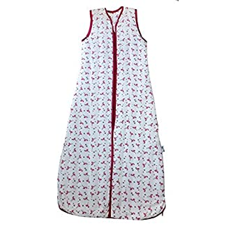 Saco de dormir de verano para niño Slumbersac 1.0 Tog AOP Flamenco 18-36 meses/110cm
