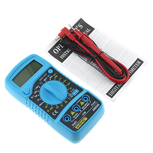 A0127 AN8205 Digital LCD Multimeter Voltmeter Amperemeter AC/DC/OHM Spannungsprüfer