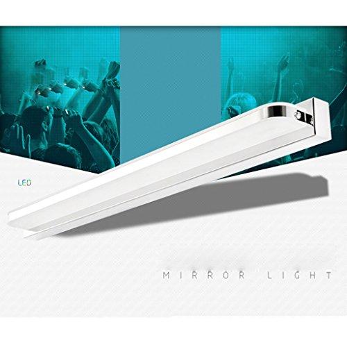 llevó la luz del espejo espejo del baño baño luz de la lámpara de pared moderna iluminación de lámparas de maquillaje minimalista nebulizadores de agua llevado