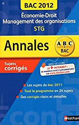 ANNALES BAC 2012 ECO DROIT STG