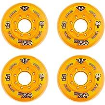 HyperWheels Pro 250 Ruedas Patines, Unisex adulto, Naranja, 76