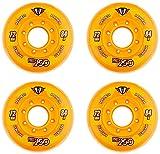 Hyper Rollen für Inlineskates Pro 250, Orange, 72, 72500