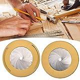 cosyhouse Herramienta De Dibujo Circular, Regla De Anillo, Ajustable De Tamaño 360 Y Herramienta para Hacer Círculos para Entusiastas De La Carpintería De Diseño (Oro)