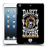 Head Case Designs Offizielle AMC The Walking Dead Motorrad Flammen Daryl Dixon Biker Kunst Ruckseite Hülle für iPad Mini 1 / Mini 2 / Mini 3