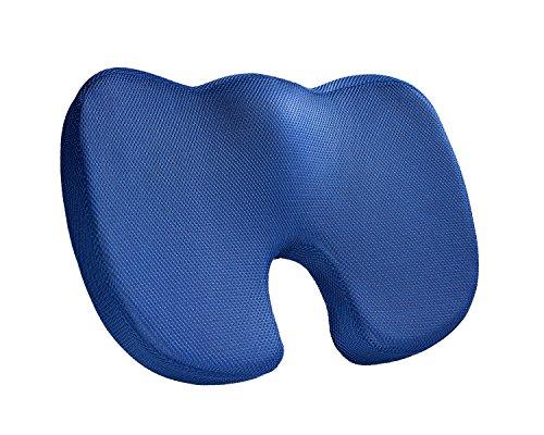 Jel-ring (Smith Hillman Orthopädische Memory Foam Sitzkissen–Beste Relief für Schmerzen im unteren Rücken, Steißbein, Ischias, Steißbein Verletzungen. Perfekte Größe für die meisten Sitzgelegenheit zu Hause, Büro und Auto/Van Stühle, Autositze. Fördert bessere Haltung natürlich.)
