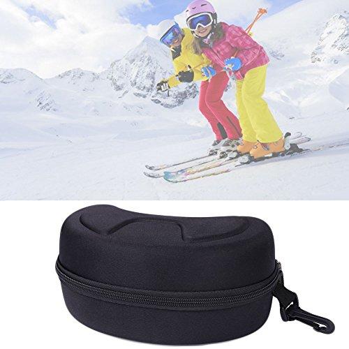Rosepoem große große Harte Sportbrillenetui - SKI Snowboard Snow Goggles Box, Sportbrillen Aufbewahrungsbox