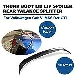 TGFOF UKCW-0067 Heckspoiler Spoiler Lippe Sport Wing Kohlefaser