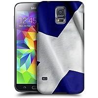 Case Fun bandiera della Scozia snap-on cover posteriore rigida per Samsung Galaxy S5(i9600)