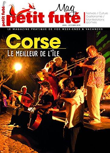 Couverture du livre CORSE EN FÊTES 2018 Petit Futé