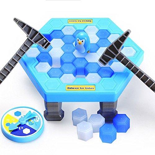 WoBoSen Pinguin Trap Ice Breaker Kinder Puzzle Tisch klopfen Spiel Familienspiel (Pinguin Trap)