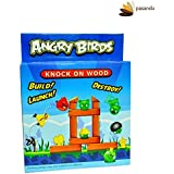 Angry Bird Knock On Wood Build, Launch And Destroy Board Game